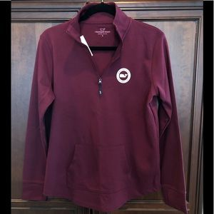 Vineyard Vines ladies sz S 1/4 zip sweatshirt
